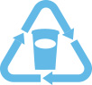 icon recycle cup